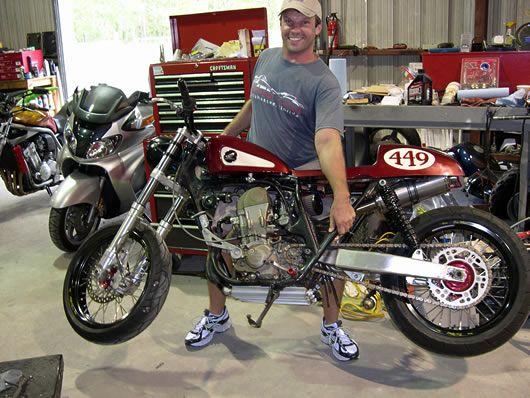 Cb450r Cafe Racer Kits Convert Honda Crf450r Dirt Bike To Street