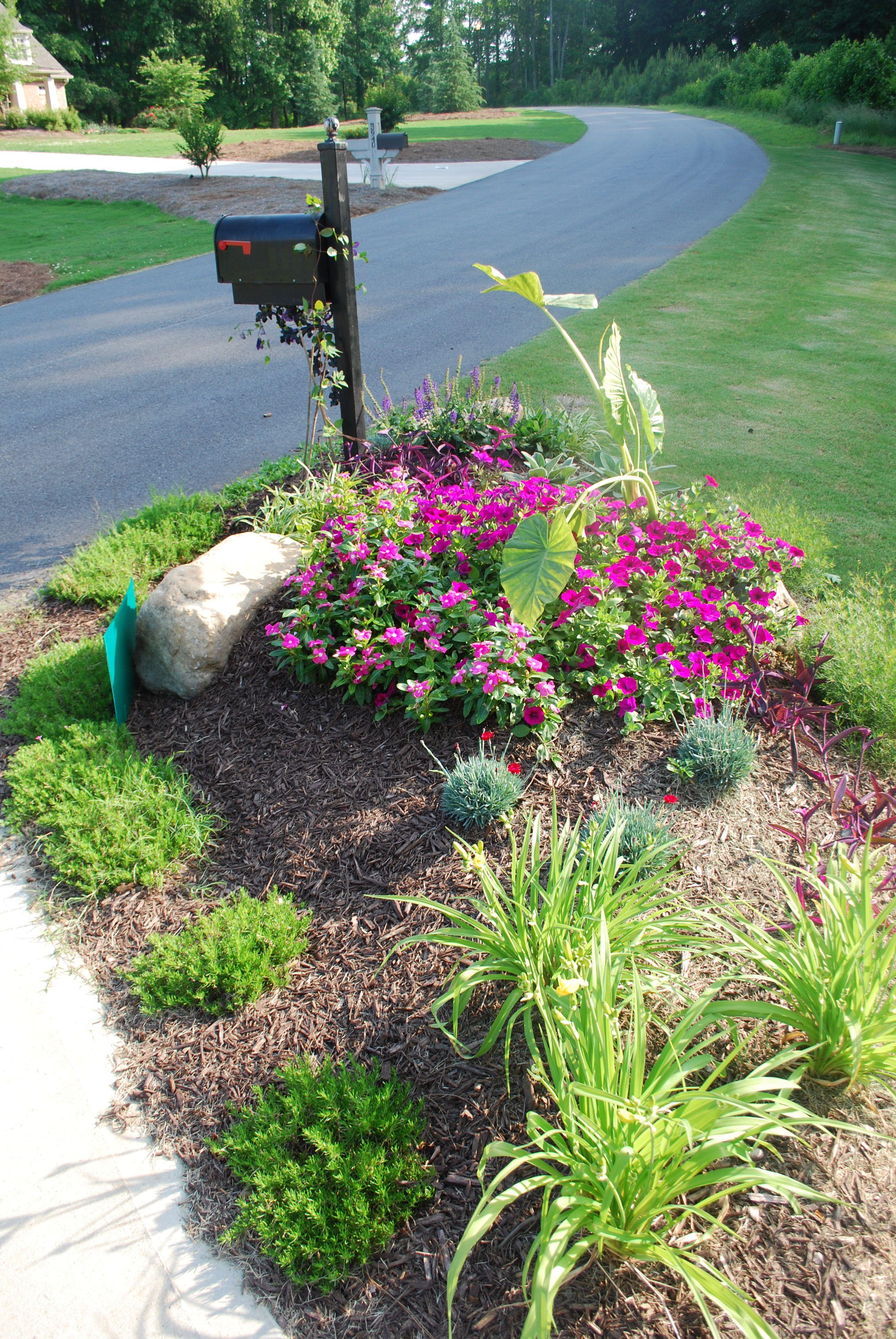 mailbox landscaping landscapes