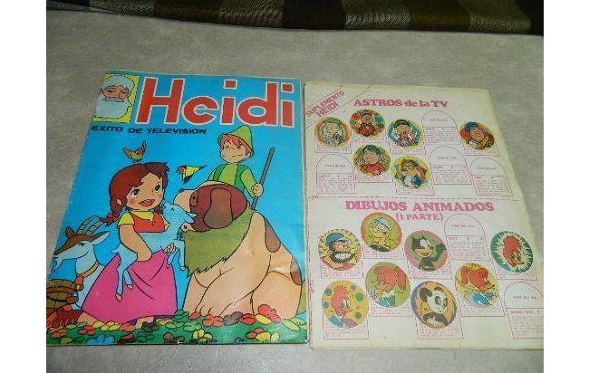Album De Figuritas Heidi Revistas Infantiles Dibujos Dibujos Animados