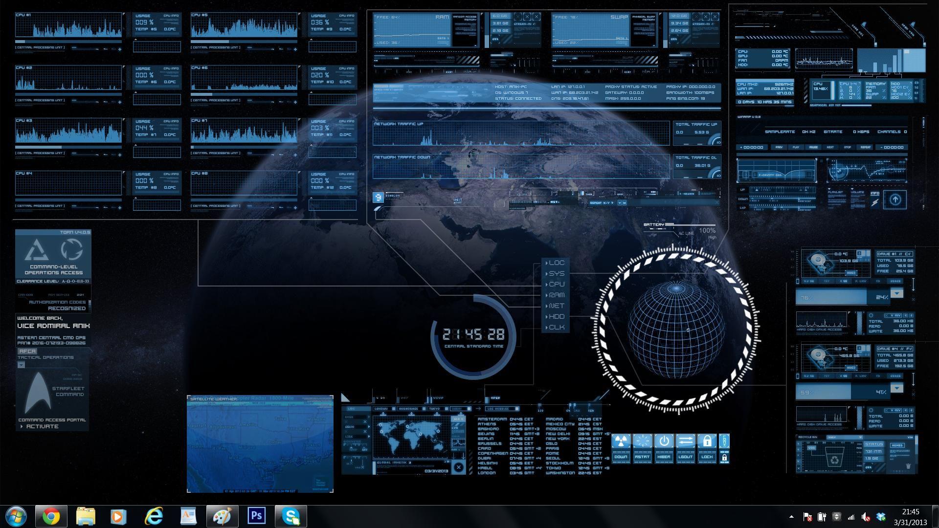 Scifi Futuristic User Interface Vector Illustration Stock Vector ...