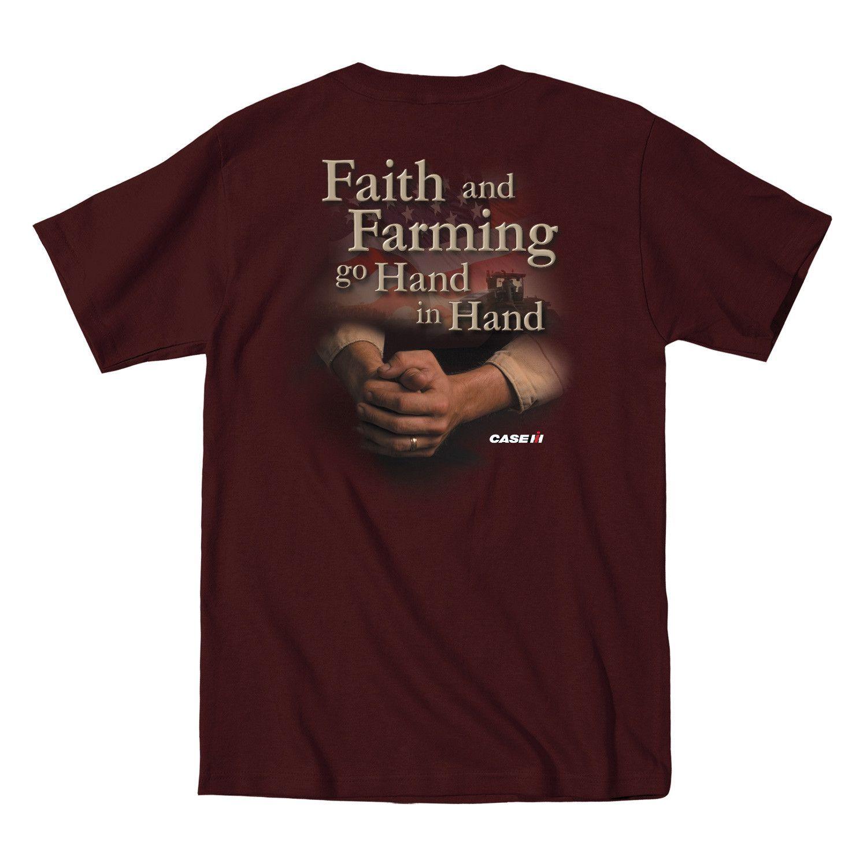 Hand In Hand Dark Brown Men's T-Shirt