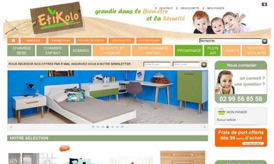 Etikolo Vente en ligne de chambre bébé et enfant #Dinard - Dinard ...