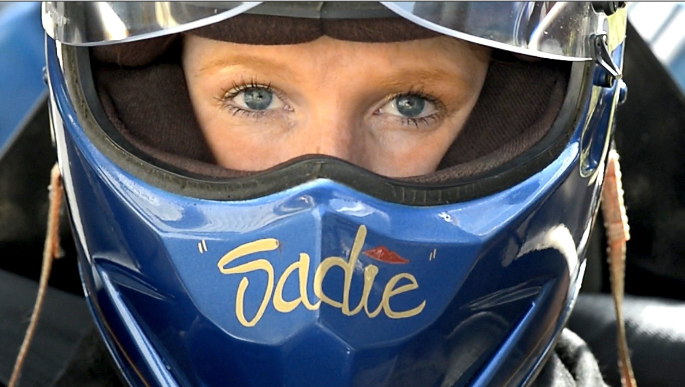 sadie. leukemia survivor. dragster driver. Thank you for
