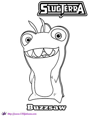 Slugterra Printables, Activities and Coloring Pages