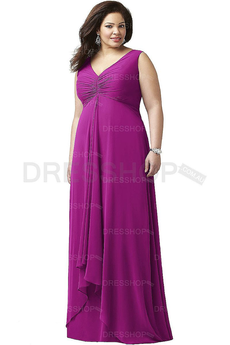 Wedding Floor-length A-line Shoulder Straps Party Dresses - Formal ...