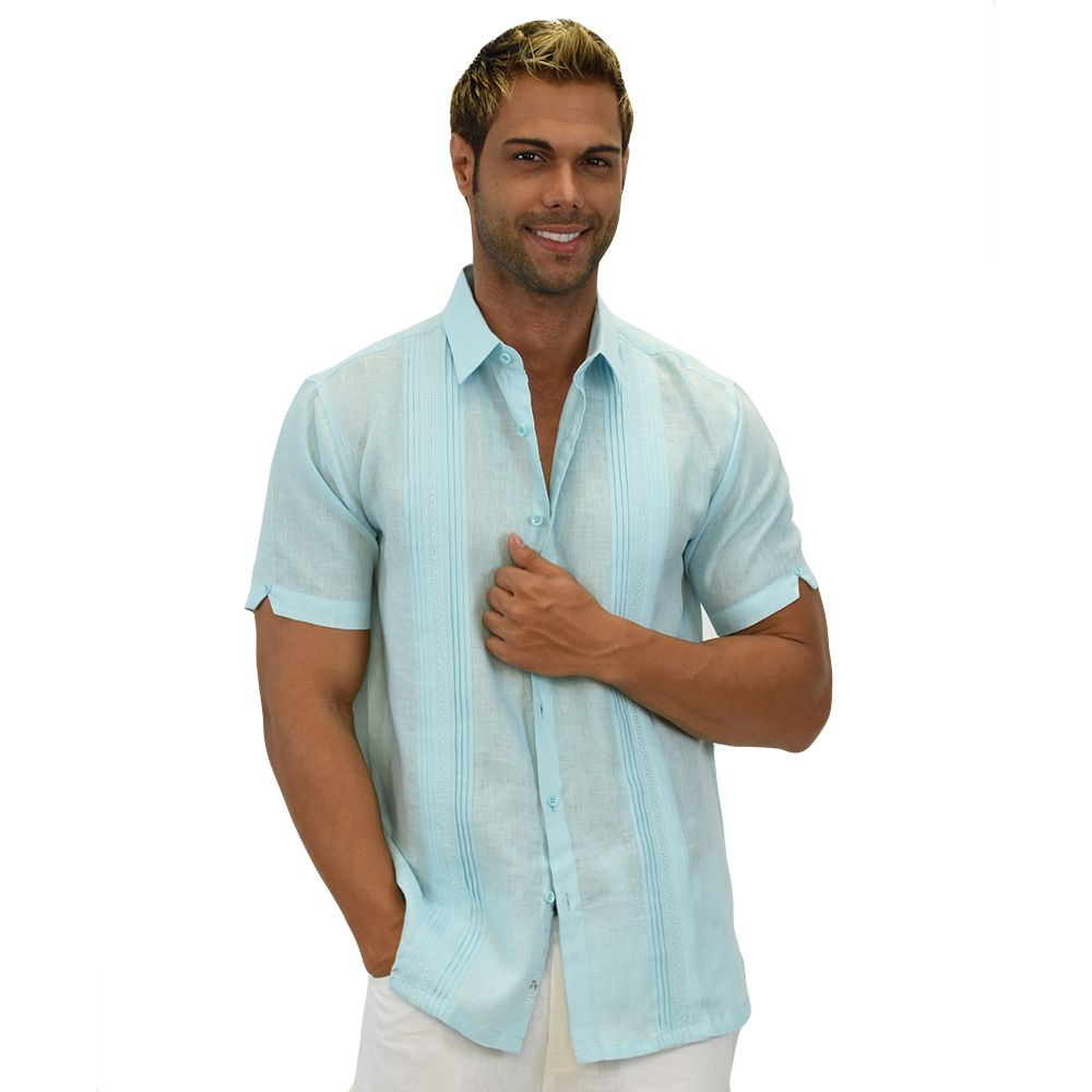 Beach Wedding Short Sleeve linen shirt