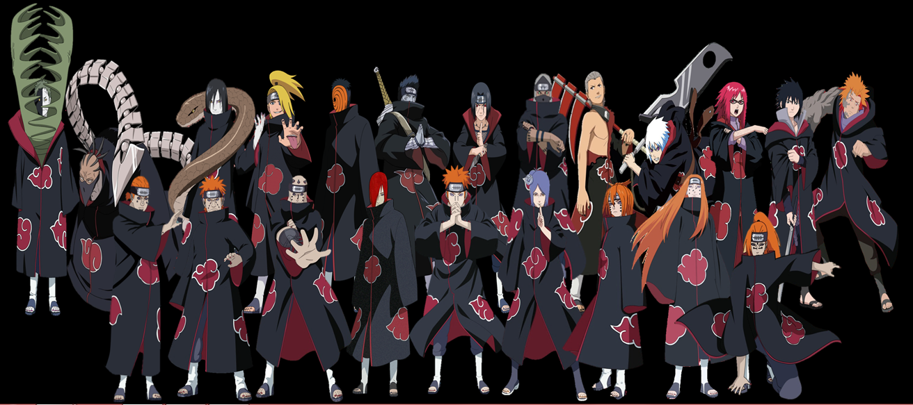 Free Download Akatsuki Hd Wallpaper Naruto Personagens Naruto