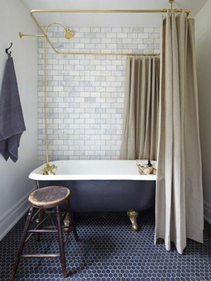 40 photos d\'intérieur de la baignoire ancienne! | Baignoire fonte ...
