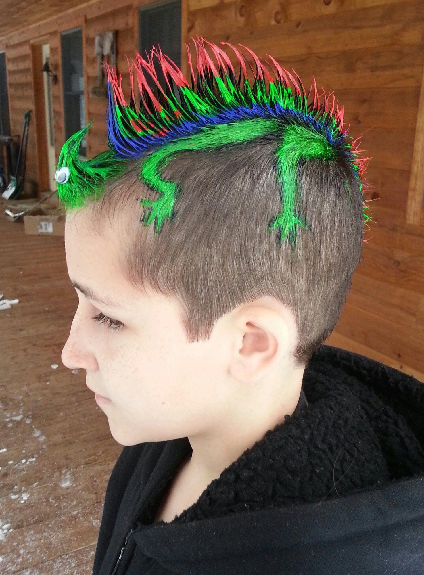 Boy hairstyle simple  wild ideas for wacky hair day  costumes  pinterest  hair hair