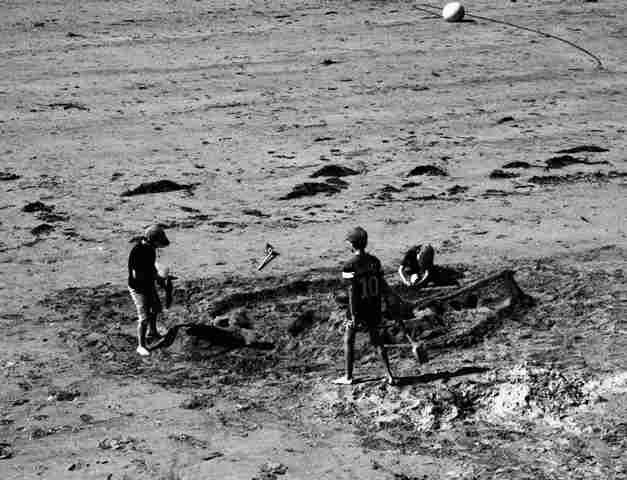 Jeux sur la plage
