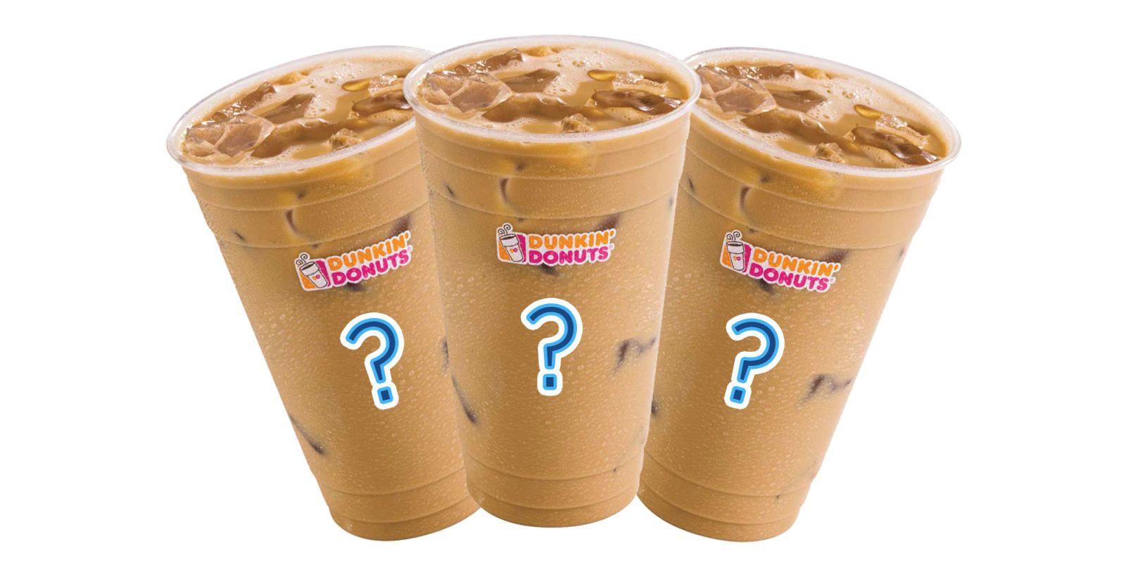 All of Dunkin' Donuts' Iced Coffee Flavors, Ranked Donut