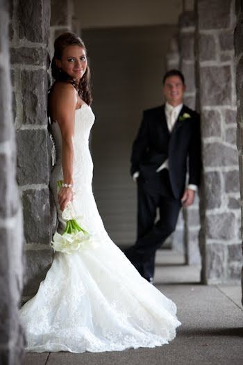 These guys tied-the-knot at the Oregon Golf Club . I know from our initial meetu... - Bridal Gowns #attireforwedding