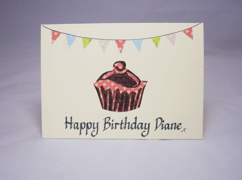 Personalised birthday cardname birthday cardown name birthday personalised birthday cardname birthday cardown name birthday card cake birthday card bookmarktalkfo Images