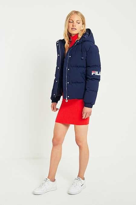 online store 4719b 6aef4 FILA Navy Puffer Jacket Doudoune Fila, Doudoune Adidas, Doudoune Tommy,  Veste Doudoune,
