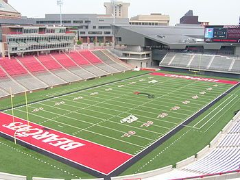 University Of Cincinnati S Nippert Stadium Cincinnati Bearcats