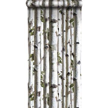 papier peint papier inspire troncs de bouleaux blanc larg m leroy merlin interior. Black Bedroom Furniture Sets. Home Design Ideas