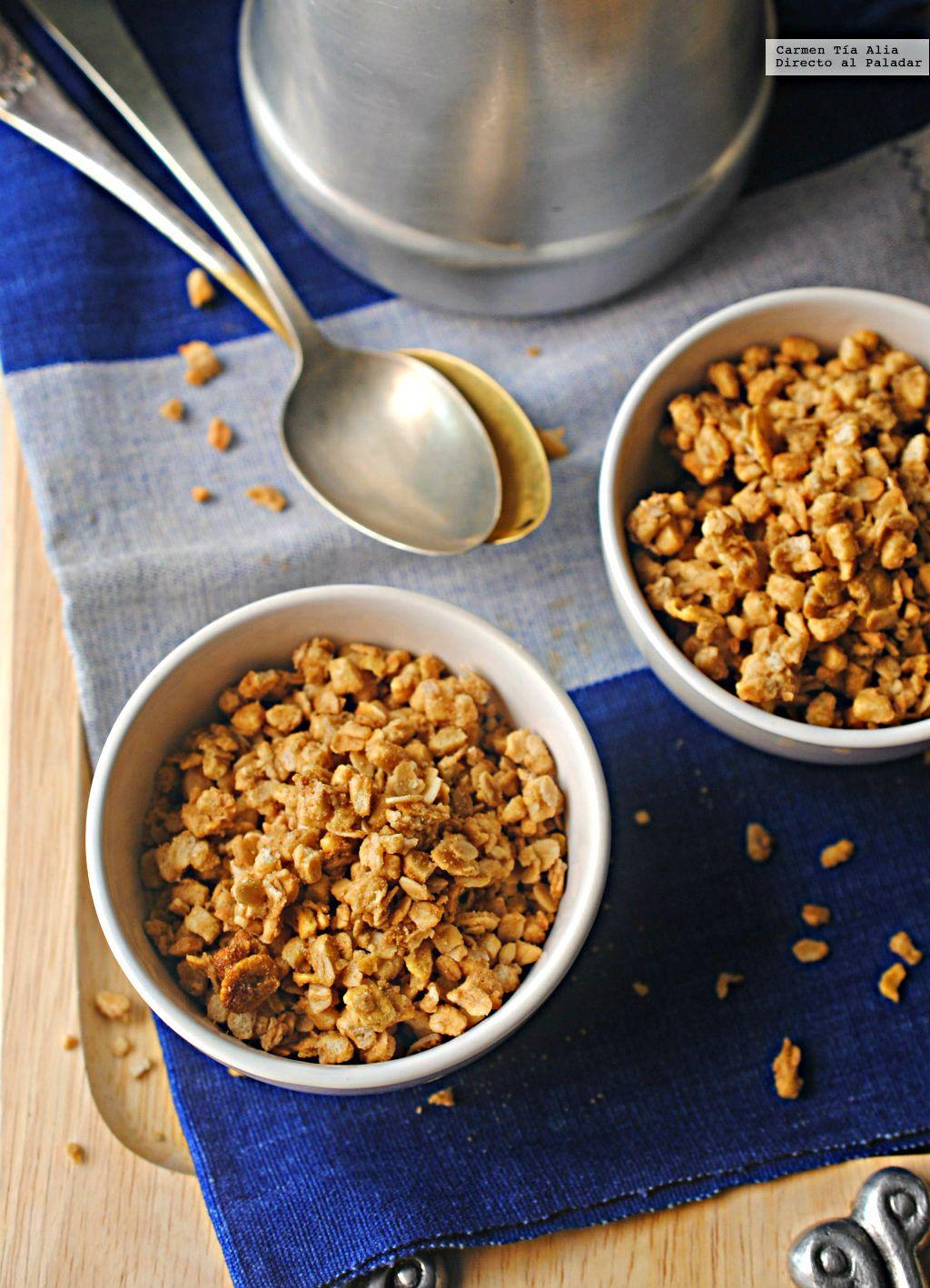 Hacer granola casera es tarea fácil y rápida, tanto que nos ha dado un poco de…