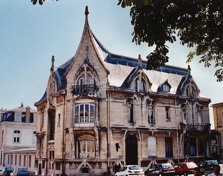 Lucien Weissenburger - Villa Bergeret - Nancy -1904