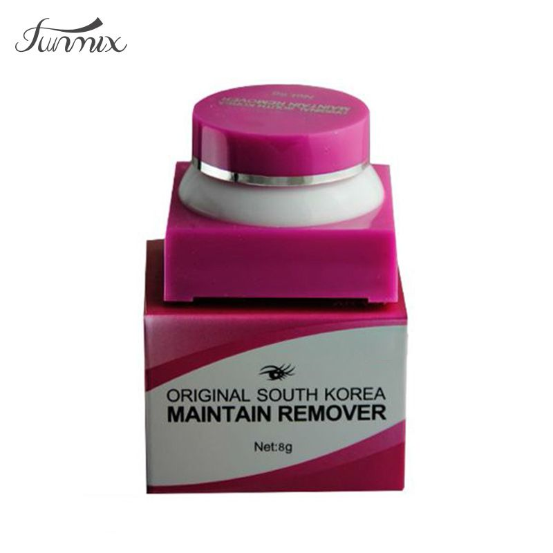 8gpack eyelash extension remover solid cream glue remover