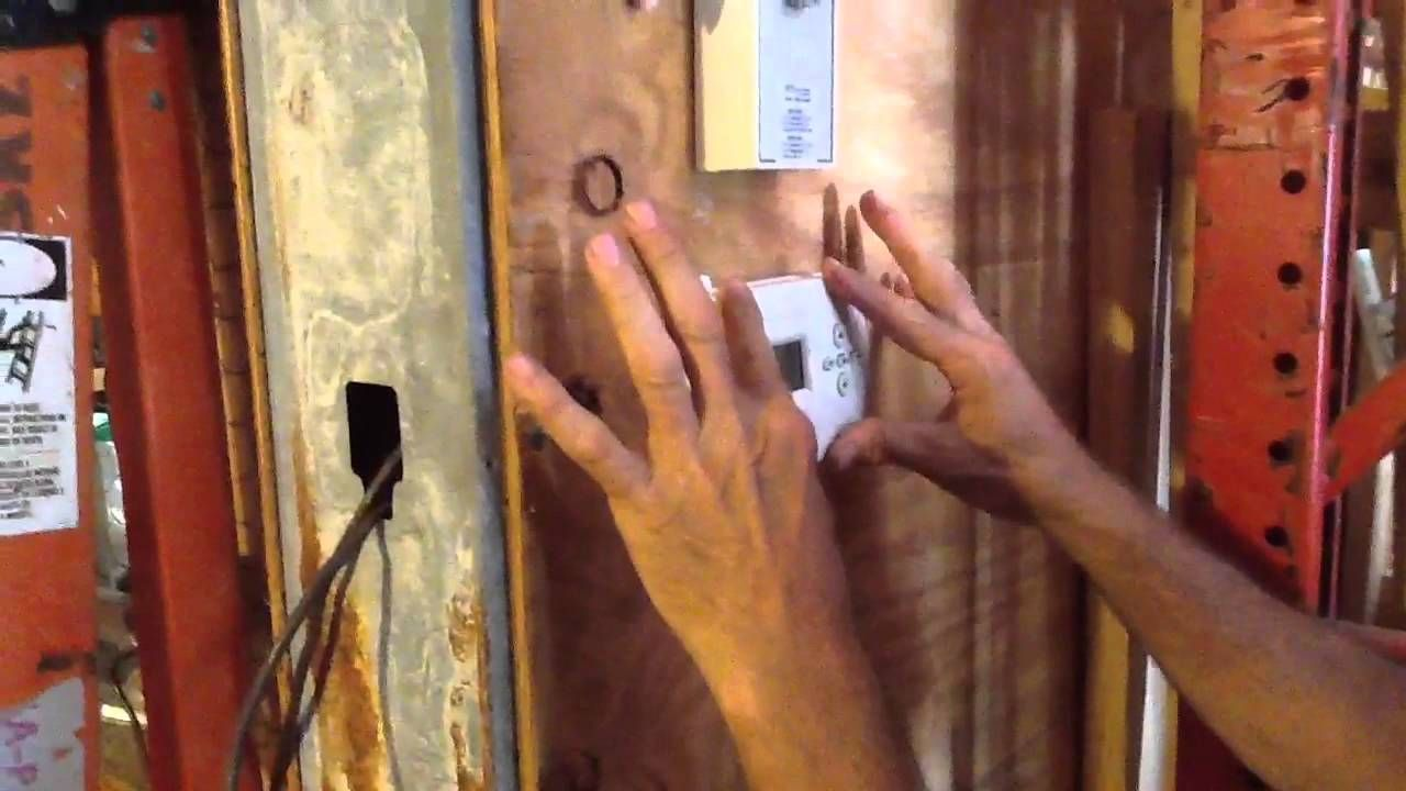How to replace Batteries on a digital Thermostat Digital