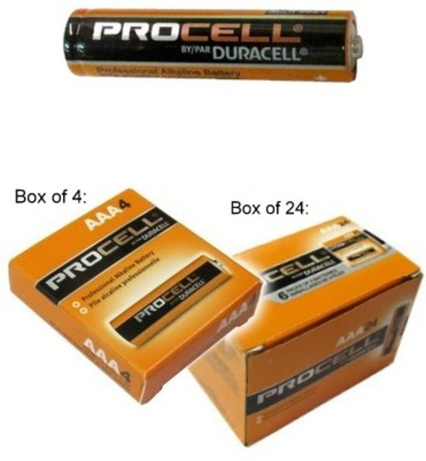 Duracell Pc2400 Procell Aaa Size Alkaline Battery Boxed Made In The Thailand 2021 Date Duracell Alkaline Battery Duracell Batteries