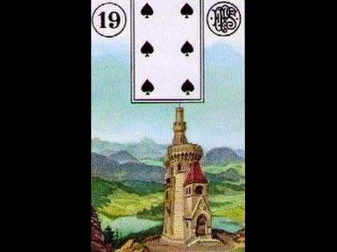 Baralho Lenormand:  a Torre  (Snapchat: ALEXCARLOS60)
