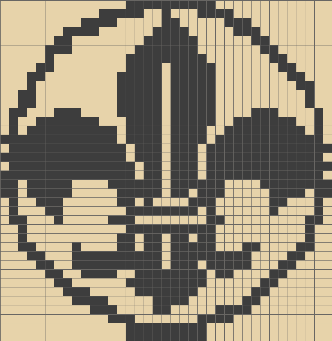Fleur De Lis Pixel Art Cross Stitch Stitch Crochet