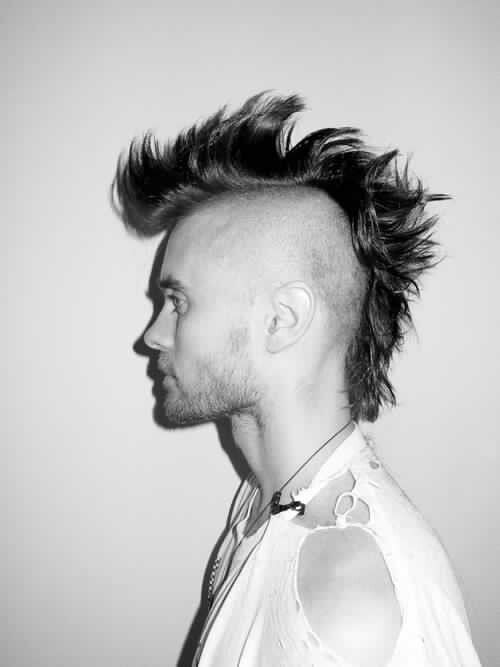 Mohawk Jared Mohawk Hairstyles Men Mohawk For Men Mohawk Hairstyles