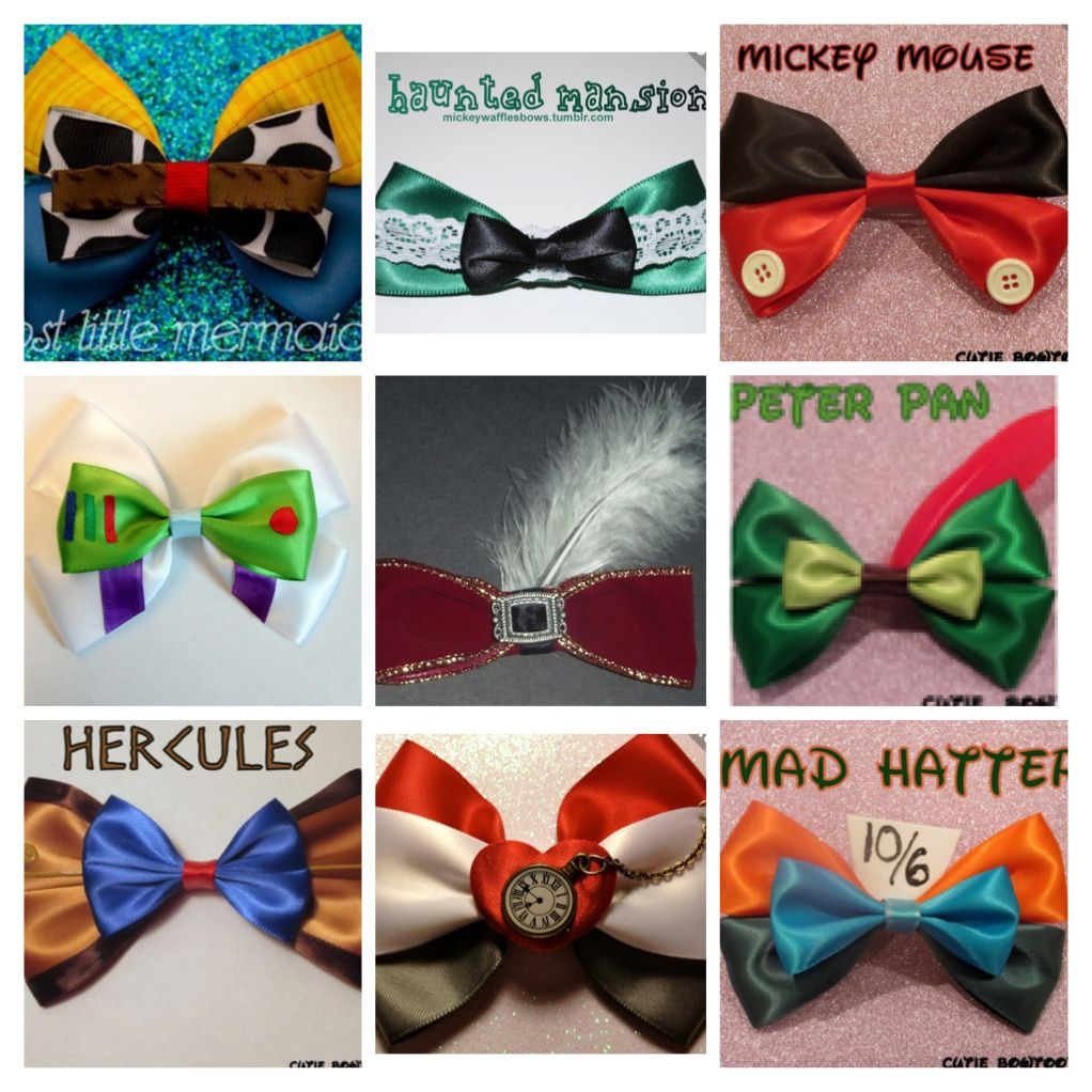 Character bows