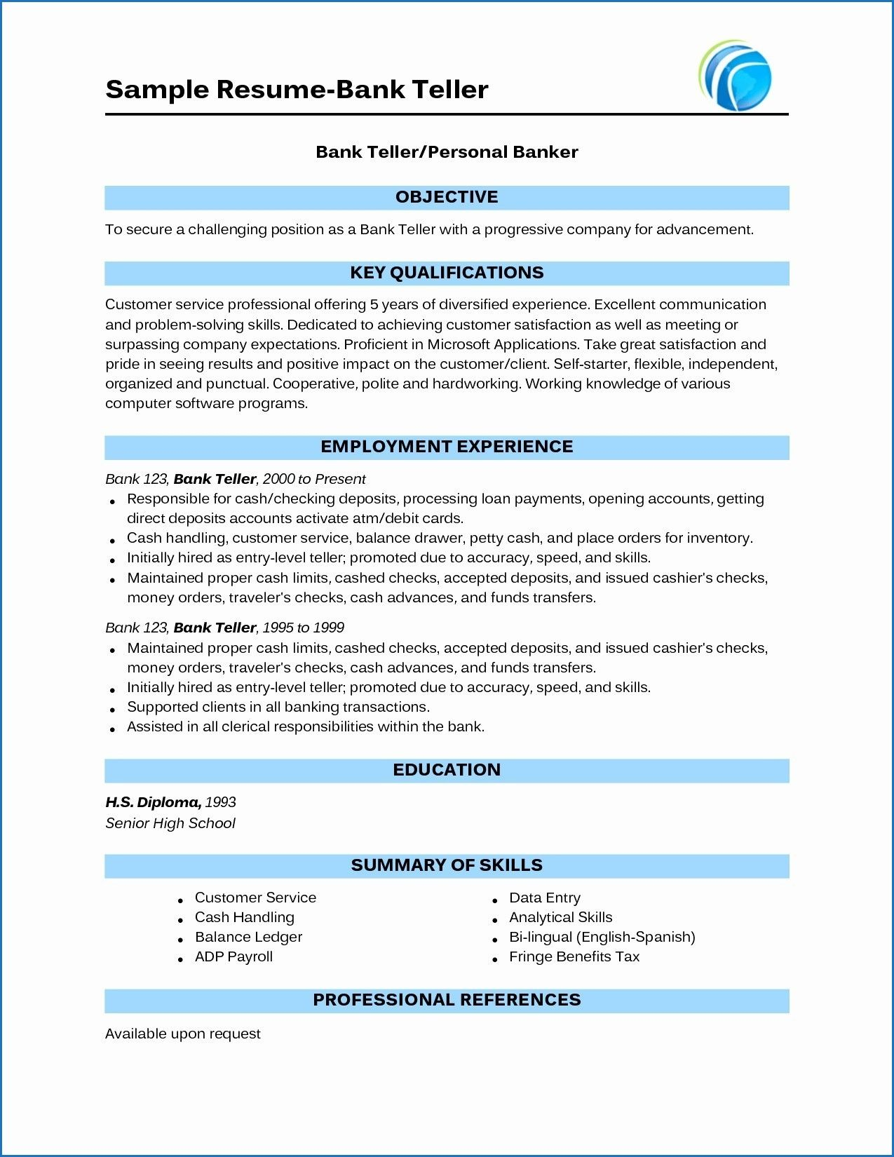 15 Banking Sector Resume Examples