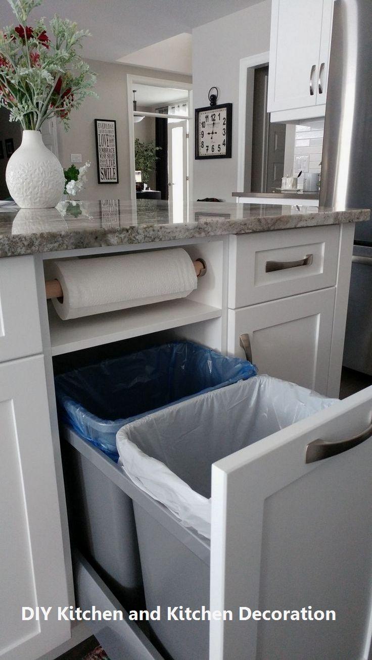 DIY Kitchen Remodel Ideas  #kitchenideas #kitchenmakeover