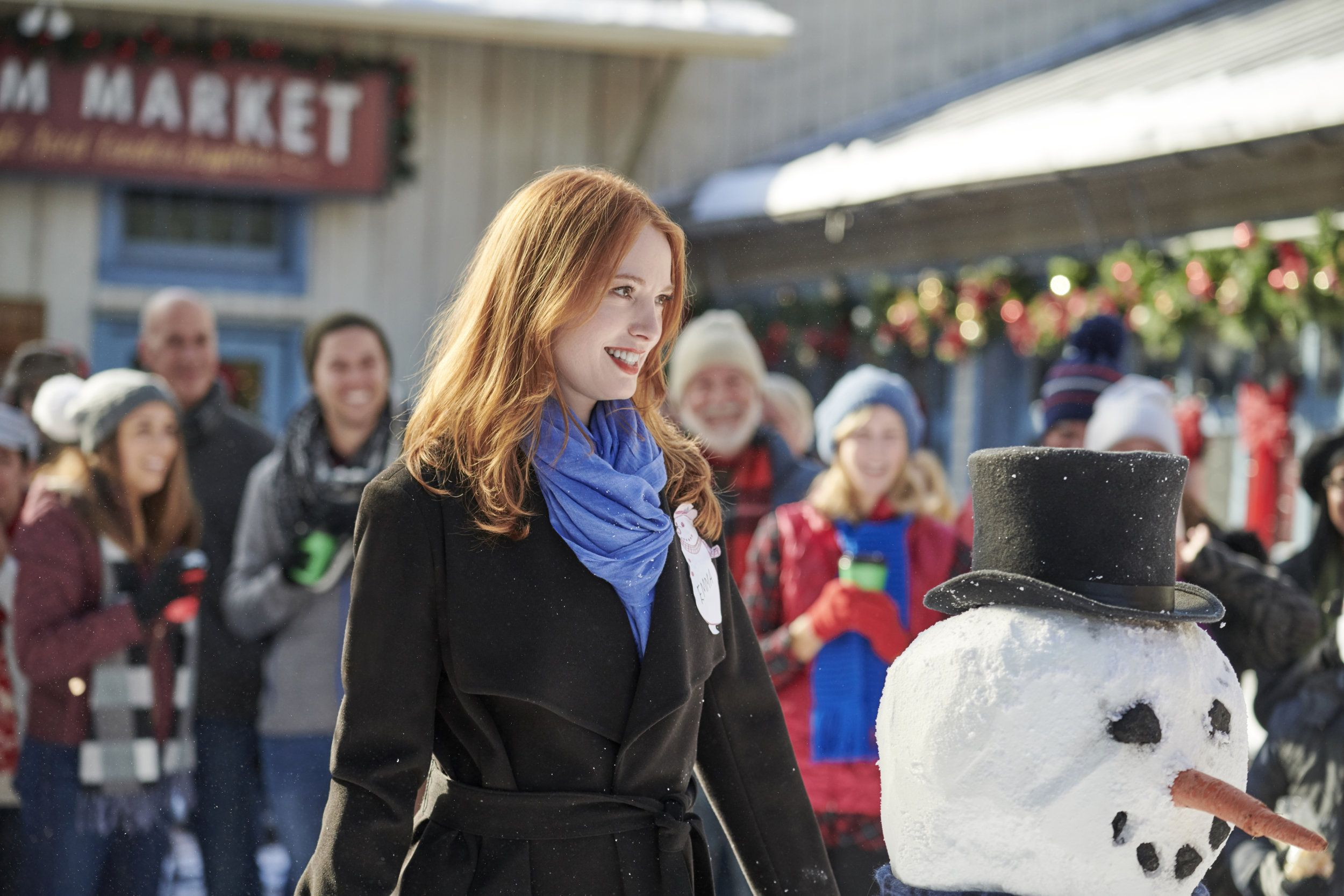 """Watch a preview for """"Christmas on Honeysuckle Lane"""" starring Alicia Witt and Colin Ferguson ..."""