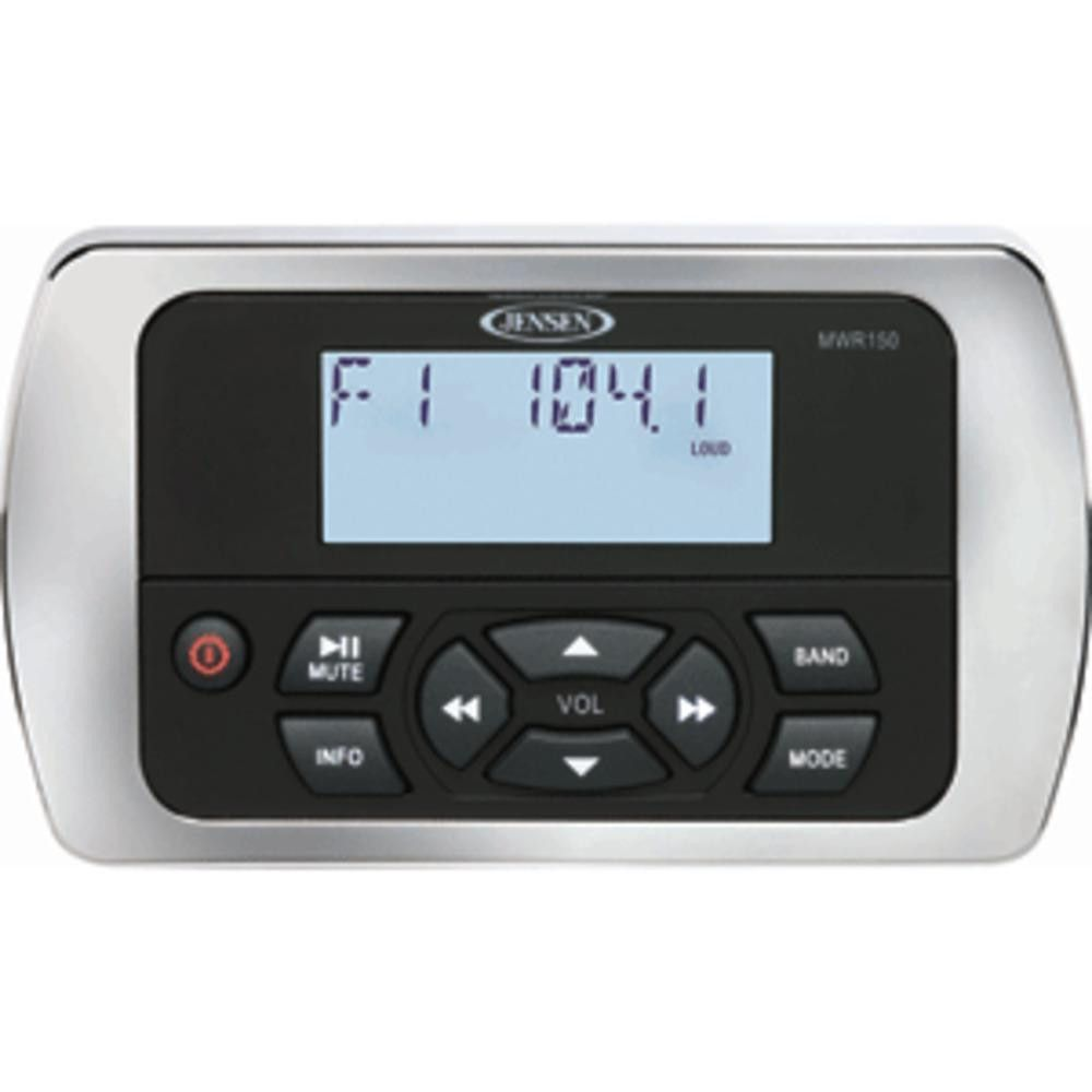 JENSEN MWR150 Full Display Wired Marine Remote Control   Products ...