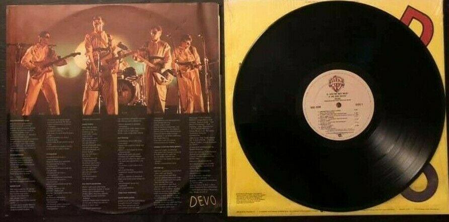 Vintage Devo Vinyl Lp Q Are We Not Men Album 1978 Original Wrap Sticker Bsk3239 Ebay Vinyl Records Music Are We Not Men Vinyl