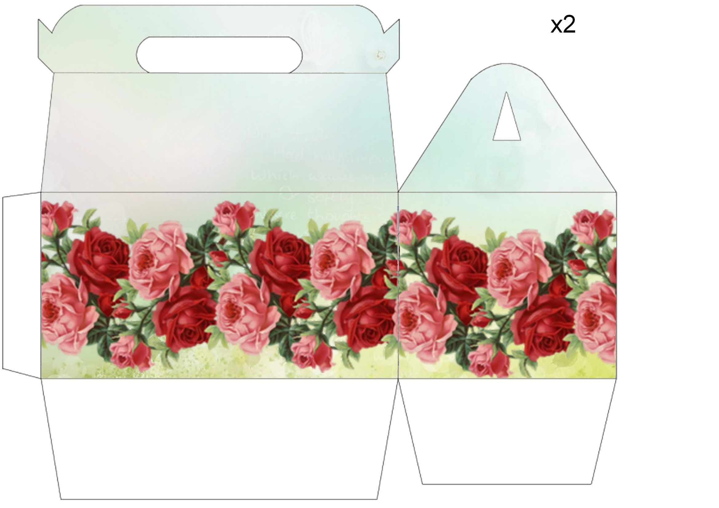 Pin by Cathie Cagle on Cricut - Boxes & Bags | Printable box