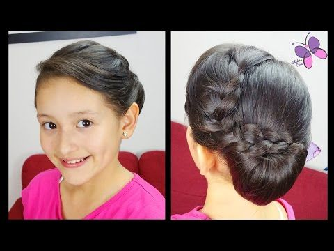 Celebrity Red Carpet Inspired Braids Easy Hairstyles Hairstyles For Every Occasion Youtube Short Hair Styles Hair Styles Side Chignon