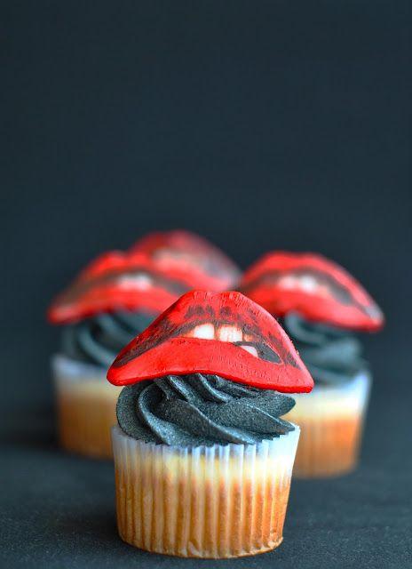 Rocky Horror cupcakes