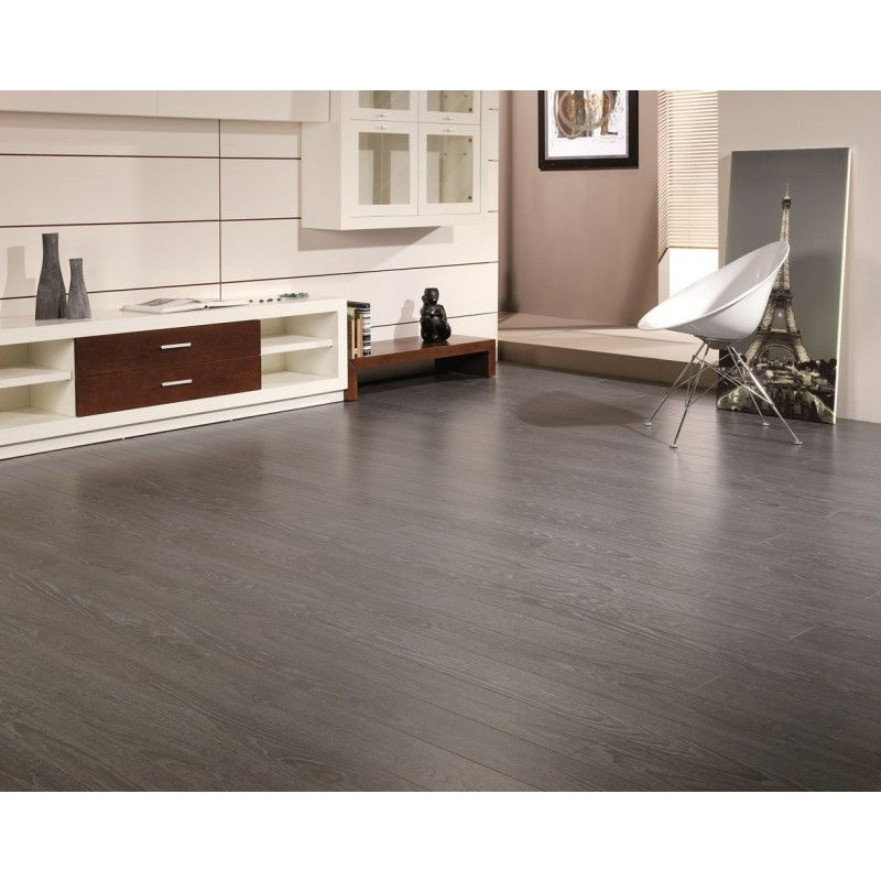 Can laminate wood flooring be used in a bathroom with for Grey bathroom laminate flooring