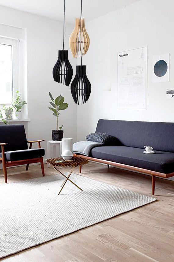STRIPES _ pendant light, wood lamp,pendant lighting, Plywood hanging light, Designer light, ceiling light, Lighting Fixture, Chandelier images