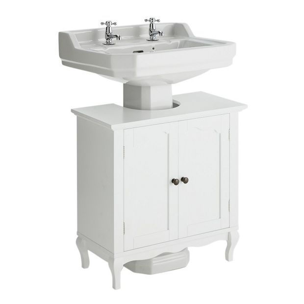 Buy Collection Provence Undersink Bathroom Storage Unit   White at  Argos co uk. Buy Collection Provence Undersink Bathroom Storage Unit   White at