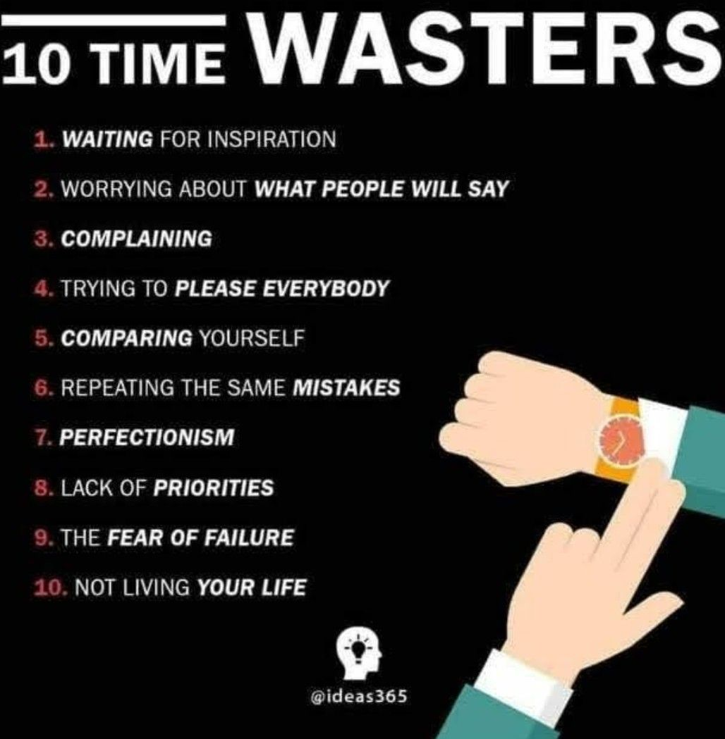 Don T Waste Time Your Time Flyyzdrew Self