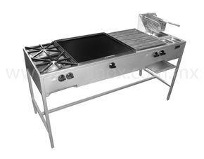 Estufa multiple economica con asador caracteristicas con for Estufa para cocina economica