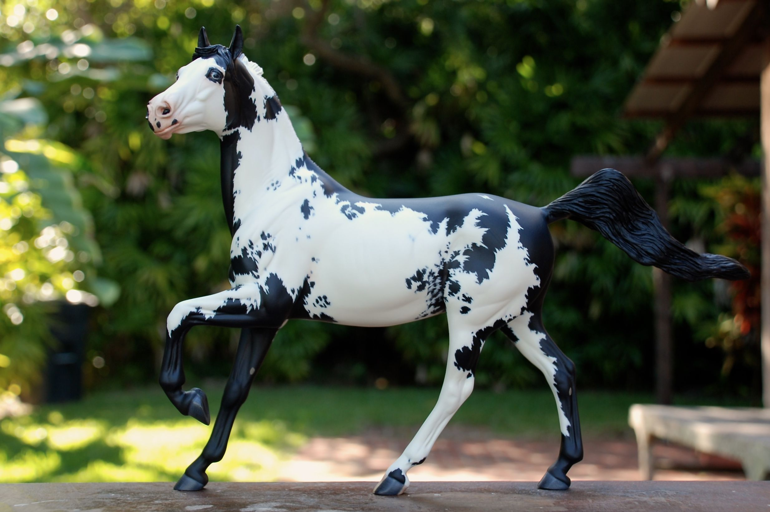 Arte Replay Mustang Replay Resin Sculpted By Brigitte Eberl Painted By Nikki Button