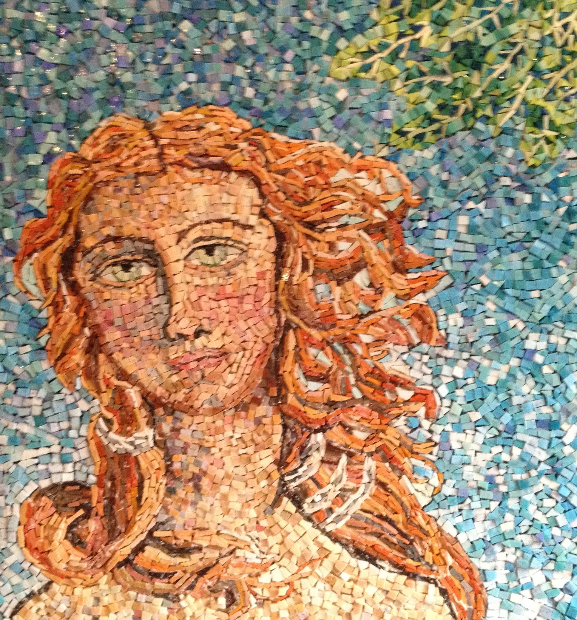 Portrait mosaic by my mum