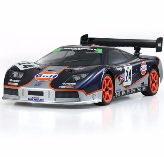 Kyosho does it again EP powered 10th scale sedan at an