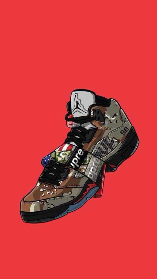 Pin by 💯♌💎_J.A.Y_💎💯♌ on litt Sneaker art, Sneakers