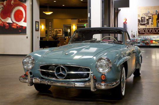 1955 - 1963 Mercedes Benz 190SL Grand Touring Roadster