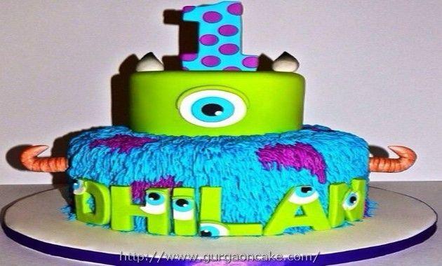 Monsters Inc Birthday Cake Tesco Picture Birthday Cake Pinterest