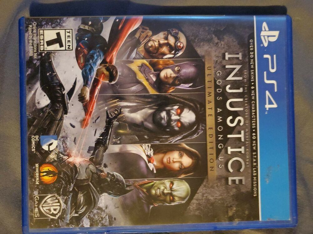 Injustice gods among us ps4 in 2020 Injustice, Modern