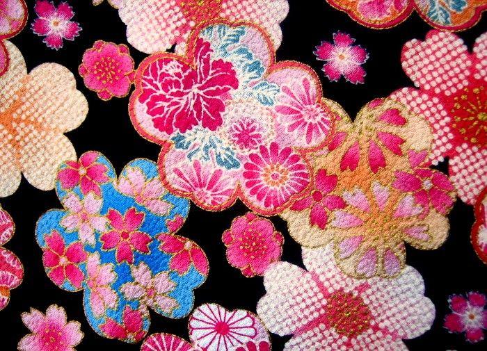 Sakura Cherry Blossom Peony Fabric Peony Fabric Sakura Cherry